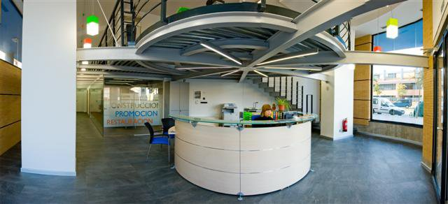 Ejecuci n de oficinas arquitecto tecnico pamplona for Oficinas bankia pamplona
